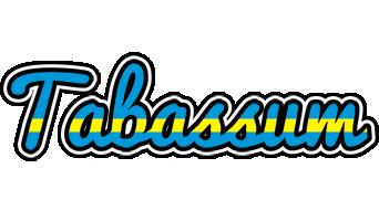 Tabassum sweden logo