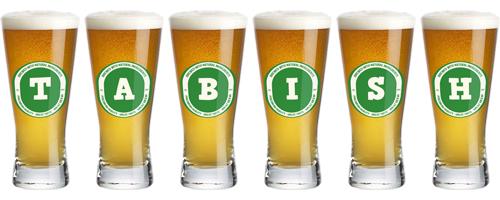 Tabish lager logo