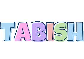 Tabish pastel logo