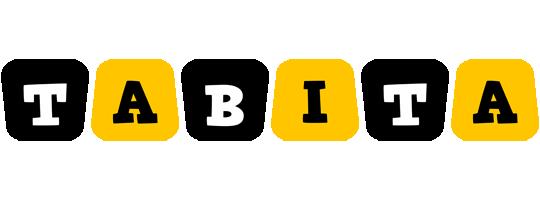 Tabita boots logo