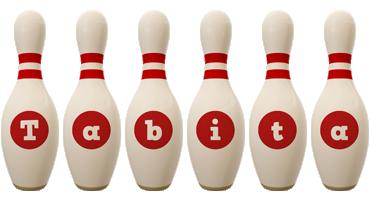Tabita bowling-pin logo