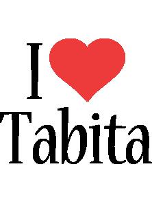 Tabita i-love logo
