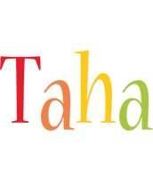 Taha birthday logo