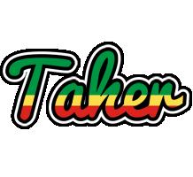 Taher african logo