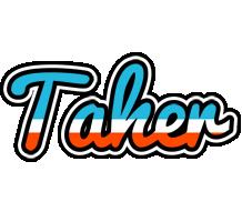 Taher america logo