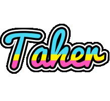 Taher circus logo