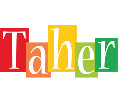 Taher colors logo