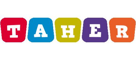 Taher daycare logo