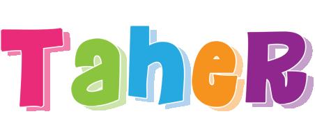 Taher friday logo