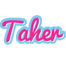 Taher popstar logo