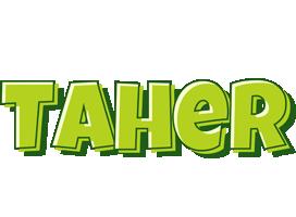 Taher summer logo