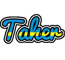 Taher sweden logo