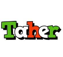 Taher venezia logo
