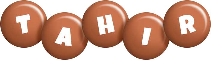 Tahir candy-brown logo