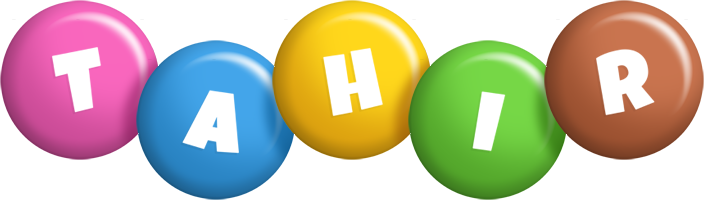 Tahir candy logo