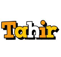 Tahir cartoon logo