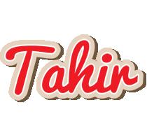 Tahir chocolate logo