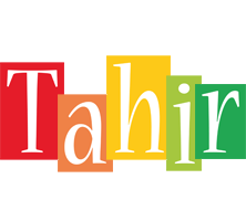 Tahir colors logo