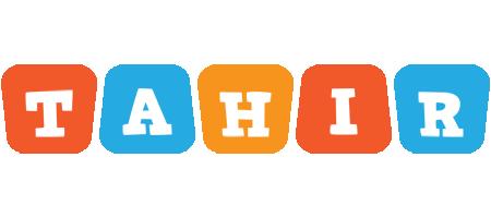 Tahir comics logo