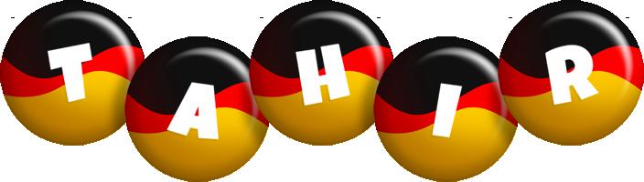 Tahir german logo
