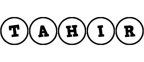 Tahir handy logo