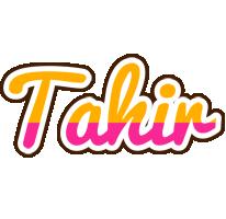 Tahir smoothie logo