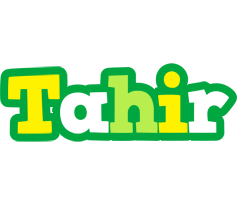 Tahir soccer logo