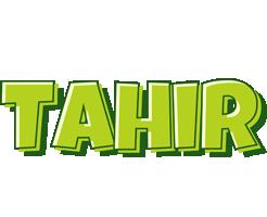Tahir summer logo