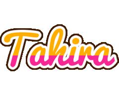 Tahira smoothie logo