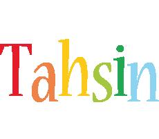 Tahsin birthday logo