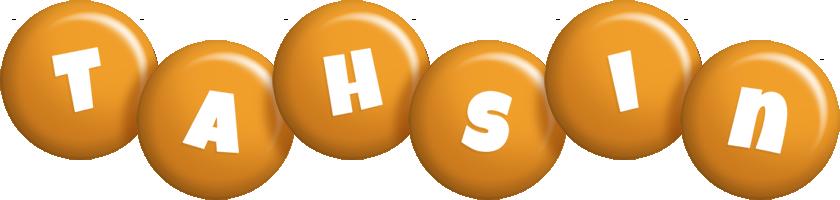 Tahsin candy-orange logo