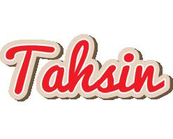 Tahsin chocolate logo