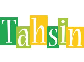 Tahsin lemonade logo