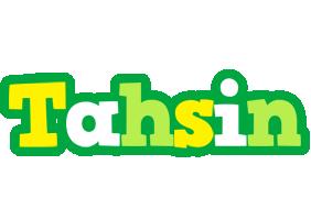Tahsin soccer logo