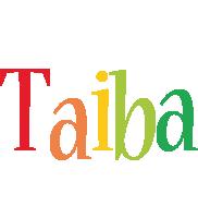 Taiba birthday logo