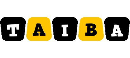Taiba boots logo