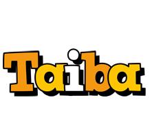 Taiba cartoon logo