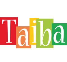 Taiba colors logo