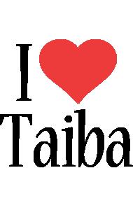 Taiba i-love logo