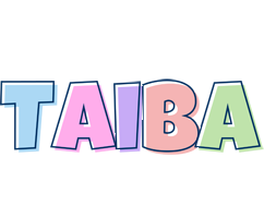 Taiba pastel logo