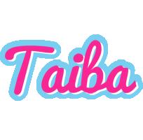 Taiba popstar logo