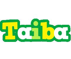 Taiba soccer logo