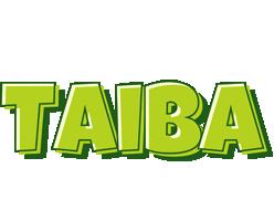 Taiba summer logo