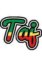 Taj african logo