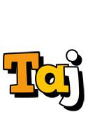Taj cartoon logo