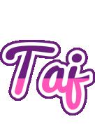 Taj cheerful logo