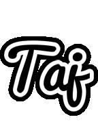 Taj chess logo