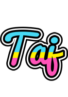 Taj circus logo
