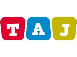 Taj daycare logo