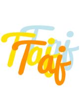 Taj energy logo